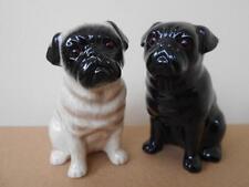 Pug Dog Salt and Pepper Pots Pug Dog Cruet Set Supplied Gift Boxed NEW