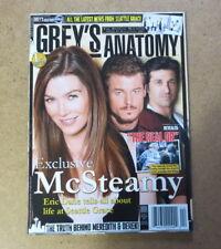 Grey's Anatomy Magazine 1 - Patrick Dempsey, Ellen Pompeo, Eric Dane RARE