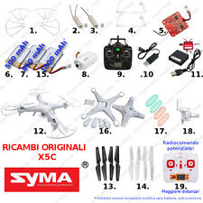 Ricambi DRONE SYMA X5C eliche batterie caricatore usb camera motori radiocomando