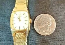 Vintage Seiko Gold Tone Women's Watch 16-5009 ~ NEW BATTERY
