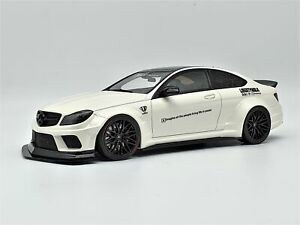 GT Spirit Mercedes Benz C63 AMG Coupe LB Works Widebody 1:18 Scale Model Car *Ra