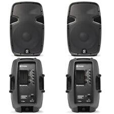 "4x Skytec SPJ-1200A 12"" Active Speakers 2400W Essex"