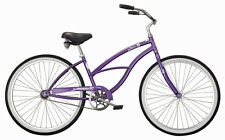 "Micargi 26"" Pantera Women beach cruiser bicycle bike Purple"