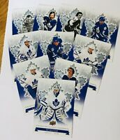 2017 TORONTO MAPLE LEAF CENTENNIAL UPPER DECK BASE SET 1-100 PICK WHAT YOU NEED
