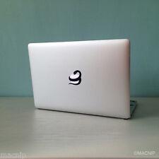 Snake & Apple Macbook Sticker Laptop Decal Mac Pro Air Retina Black MACNIP