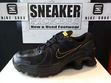 Nike Shox Turbo - 327352 001 - Black / Yellow - LIVESTRONG - Size: 9 - Limited !