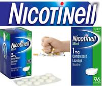 Nicotnell Lozenge Mint (1mg/2mg) Compressed Lozenges Nicotine - Choose Yours