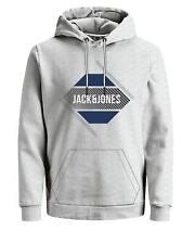 JACK&JONES Core Sudadera con Capucha Cordón Delantero Logo Estampado L/HOMBRE