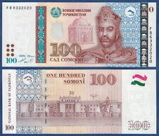 Tadshikistan/Tajikistan 100 Somoni 1999 (2013) UNC P. 27