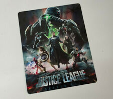 JUSTICE LEAGUE Snyder Cut -GLOSSY Bluray Steelbook Magnet Cover (NOT LENTICULAR)