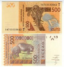 **   TOGO  (BCEAO)     500  FRANCS   2014   p-819c T    UNC   **
