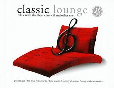CLASSIC LOUNGE - RELAX WITH THE BEST CLASSICAL MELODIES EVER / 3 CD-SET