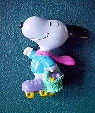 Peanuts Snoopy on Roller Skates with Easter Basket