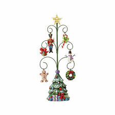 Jim Shore Heartwood Creek Christmas Tree of Good Tiding 6 Mini Ornaments 4056588
