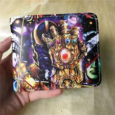2018 Avengers Infinity War Thanos Gauntlet Wallet Bifold Short Purse Coin Bag