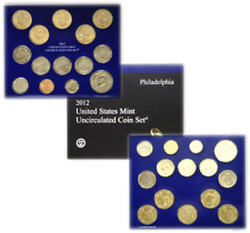 """Contains 28 coins 14 each from /""""P/"""" and /""""D/"""" Unopened Mint Box 2012 US Mint Set"""