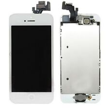 Complete LCD Display Touch Screen+Camera+Button Assembly for iPhone 5 White