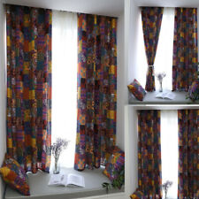 Ethnic Bohe Curtain Living Room Bedroom Curtains Window Treatment Panels Drapes