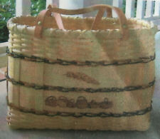 Basket Weaving Pattern Feather Baskets Tote by Patty Feather