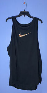 RARE!! Nike Tank Top Women's Running Training Gym Yoga CZ7424 010 Plus Size 1X
