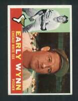 1960 Topps #1 Early Wynn EXMT+ White Sox 123009
