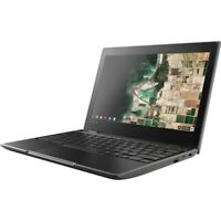 "Lenovo 100e 11.6"" Chromebook Kids School Laptop 4GB 16GB USB-C Webcam 81QB000AUS"