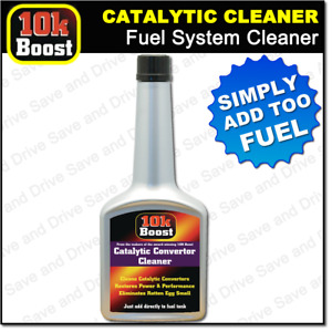 10K Boost Catalytic Converter Cleaner Cleans Entire Petrol Fuel System inc. Cat