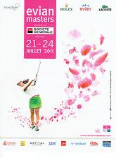 Publicité Advertising 018  2011  Evian masters  golf