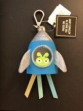 Nwt & Htf! Bath & Body Works Light Up Alien Spaceship Pocket *Bac Holder w/ Clip