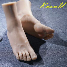 Lifelike Mannequin Model Feet Legs Left Right One Or Display Men Eur44 Silicone