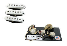 Seymour Duncan SSL-1 Vintage Staggered Strat Pickup Set w/ S5W Wiring Harness