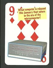 Altair 8800 Computer Neat Playing Card #5Y7
