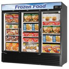 Turbo Air Tgf-72Fb-N Glass Three Door Merchandiser Freezer (Black)