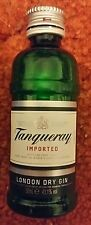 Tanqueray Gin empty Plastic Bottle 50ml mini upcycle crafts 75%off sale was 4.99