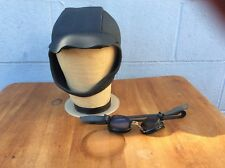 Triathlon Neoprene Swim Cap S/M And Water Gear Smoke Lenses Goggles