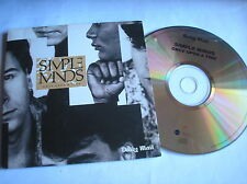 SIMPLE MINDS - ONCE UPON A TIME - DAILY MAIL  PROMO CD
