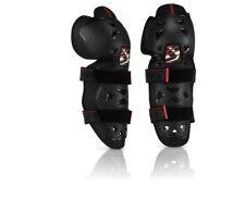 GINOCCHIERE PROTEZIONI GINOCCHIA MOTO-CROSS ENDURO Acerbis Profile 2.0 nero knee