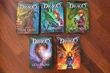 LA RAGAZZA DRAGO Saga Completa 5 volumi di Licia Troisi 1° ed. Mondadori