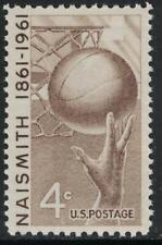 Scott 1189- MNH- Basketball, Naismith 1861- 4c 1961- unused mint stamp