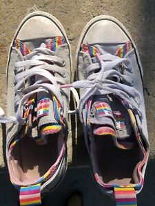 Unisex Sz 3 Converse All Star Juniors Shoes Sneakers Tennis Youth