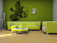 Wall Vinyl Sticker Room Decals Mural Design Zombie Car Automobile Road  bo1675