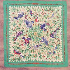 Scarf Hermes Paris LES MERISES by Antoine de Jacquelot Authentic Carre 90 Shawl