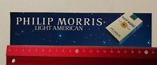 Autocollant/sticker: PHILIP MORRIS LIGHT American (12041732)