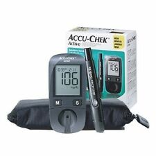 Accu Chek Active Diabetes Monitor with 10 Test Strips Gluco Meter