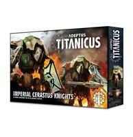 Adeptus Titanicus: Imperial Cerastus Knights Warhammer 40K NIB Flipside