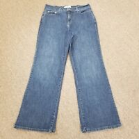 Levis 512 Perfectly Slimming Boot Stretch Women's Blue Jeans Size 12 S
