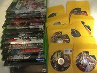 Lot Of 21 Original OG Xbox Game Bundle Punisher Capcom vs SNK Untested As-Is