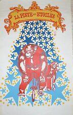 Affiche lithographie Cirque La piste aux etoiles Pop art