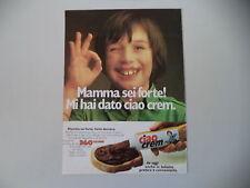 advertising Pubblicità 1981 CIAO CREM STAR