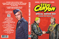 Steve Canyon TV Series AUTHORIZED Special Edition DVD!!